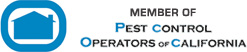 Member of Pest Control Operators of California